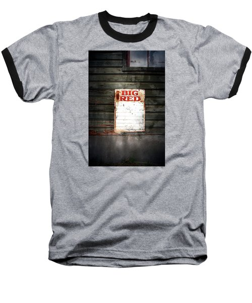 Baseball T-Shirt featuring the photograph Big Red by Newel Hunter