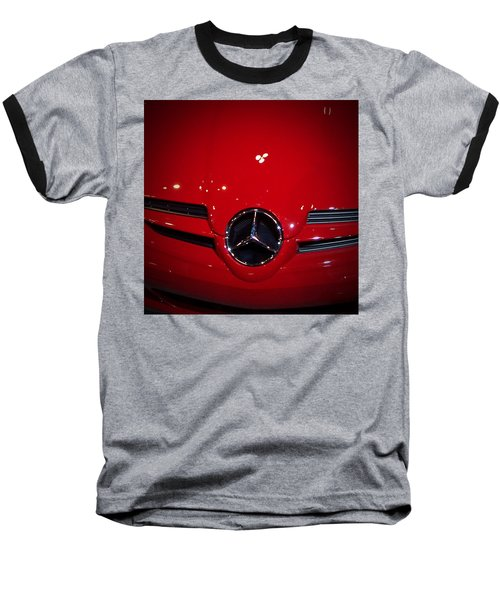 Big Red Smile - Mercedes-benz S L R Mclaren Baseball T-Shirt