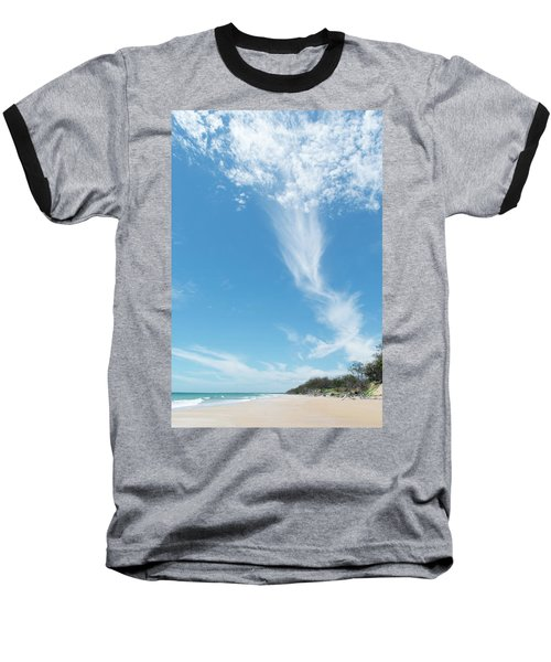 Big Sky Beach Baseball T-Shirt