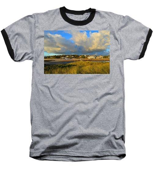 Big Sky Over Sesuit Harbor Baseball T-Shirt