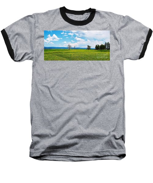Big Summit Prairie In Bloom Baseball T-Shirt