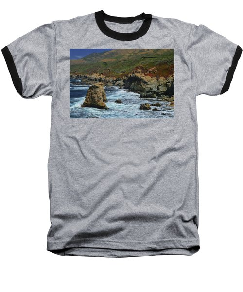 Big Sur 1 Baseball T-Shirt