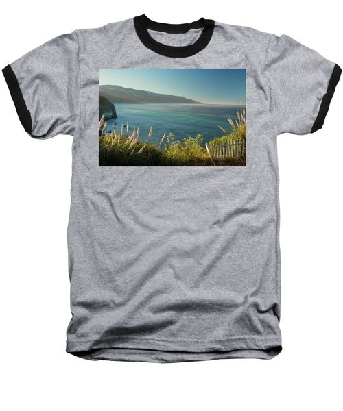 Baseball T-Shirt featuring the photograph Big Sur At Lucia, Ca by Dana Sohr