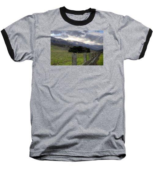 Big Sur Fence Line Baseball T-Shirt