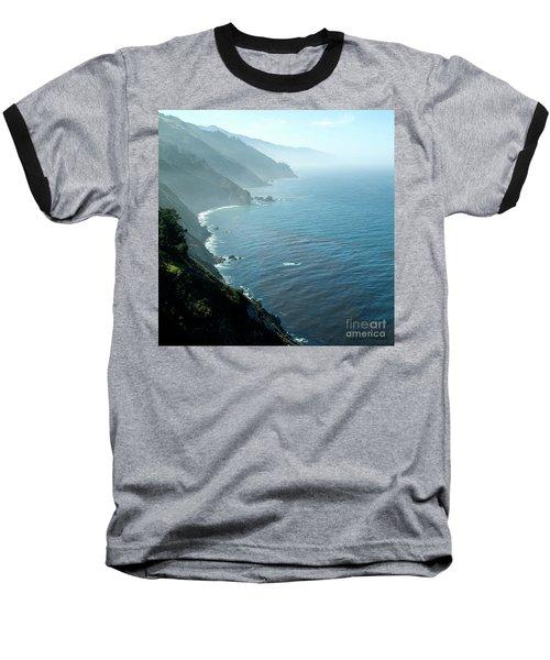 Big Sur Majesty Baseball T-Shirt