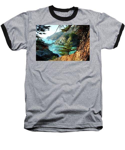 Big Sur Vista Baseball T-Shirt
