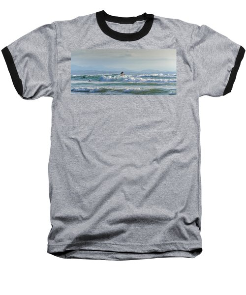 Baseball T-Shirt featuring the photograph Big Surf Invitational I by Thierry Bouriat