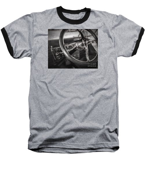 Big Wheel Baseball T-Shirt by JRP Photography