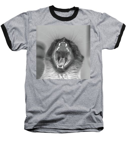 Big Yawn Baseball T-Shirt