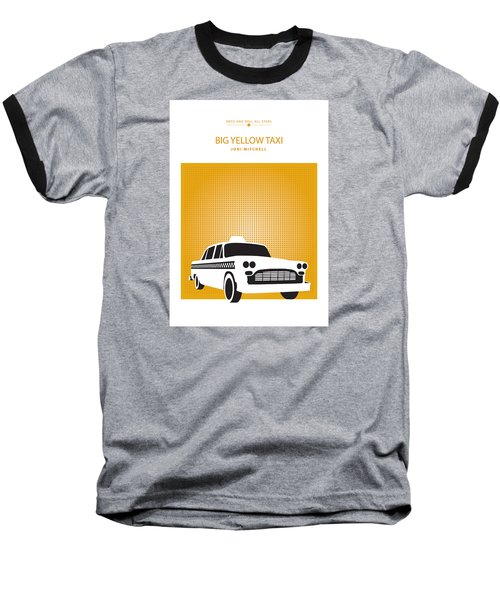 Big Yellow Taxi -- Joni Michel Baseball T-Shirt by David Davies