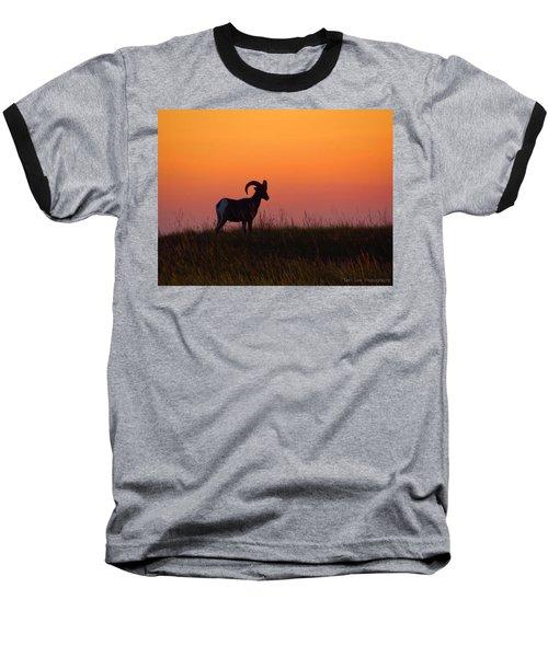 Bighorn Sunset Baseball T-Shirt