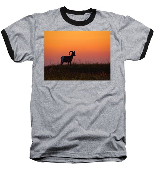 Bighorn Sunset Baseball T-Shirt
