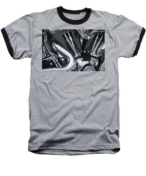 Bike Chrome Baseball T-Shirt