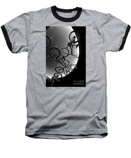Baseball T-Shirt featuring the photograph Bike Dreams by Trey Foerster