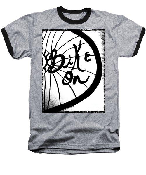 Bike On Baseball T-Shirt