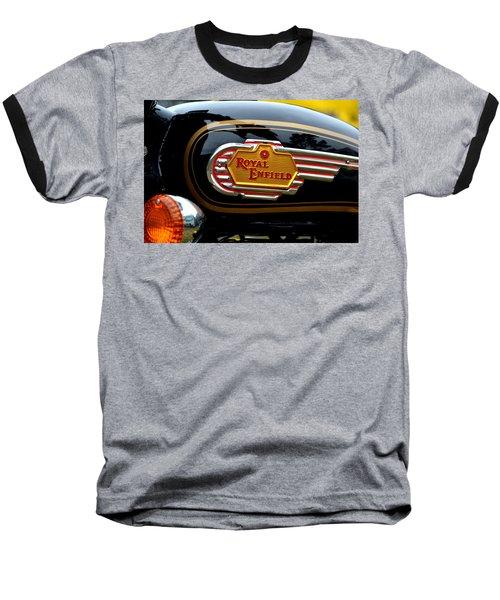 Bike Tank Baseball T-Shirt by Dean Ferreira