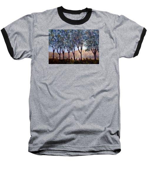 Bikers Of Burgundy Baseball T-Shirt