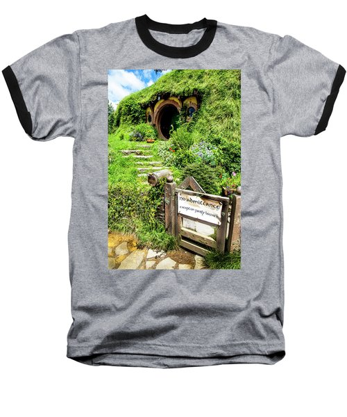 Bilbo's Hobbit Hole Baseball T-Shirt