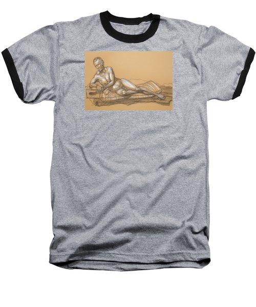Bill Reclining Baseball T-Shirt