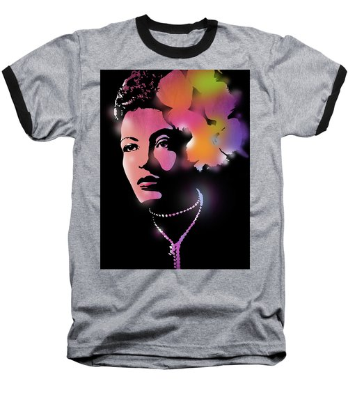 Billie Holiday Baseball T-Shirt