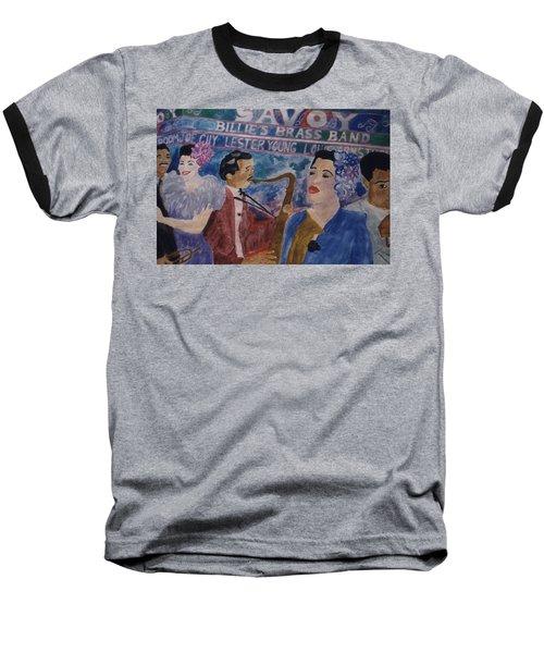 Billie's Brass Band Baseball T-Shirt