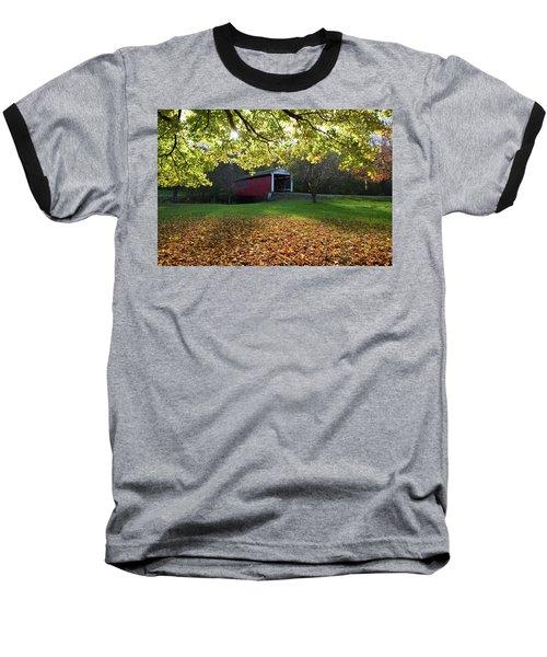 Billy Creek Bridge Baseball T-Shirt