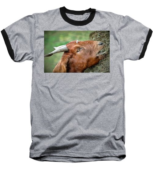 Baseball T-Shirt featuring the photograph Billy by Marion Johnson