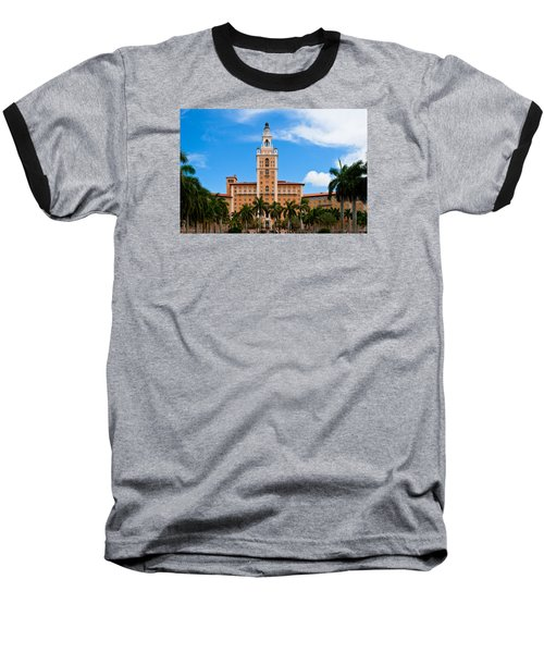 Baseball T-Shirt featuring the photograph Biltmore Hotel by Ed Gleichman