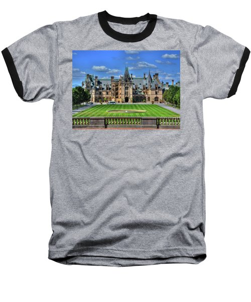 Biltmore Mansion Estate Asheville North Carolina  Baseball T-Shirt
