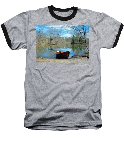 Baseball T-Shirt featuring the photograph Biltmore Reflections by Li Newton