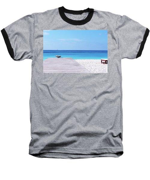 Bimini Beach Club Baseball T-Shirt