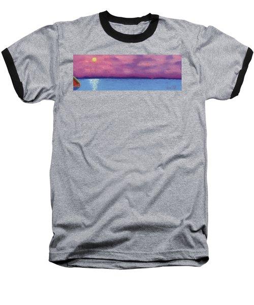 Bimini Sunrise Baseball T-Shirt