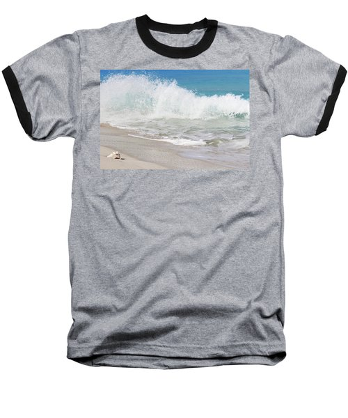 Bimini Wave Sequence 1 Baseball T-Shirt