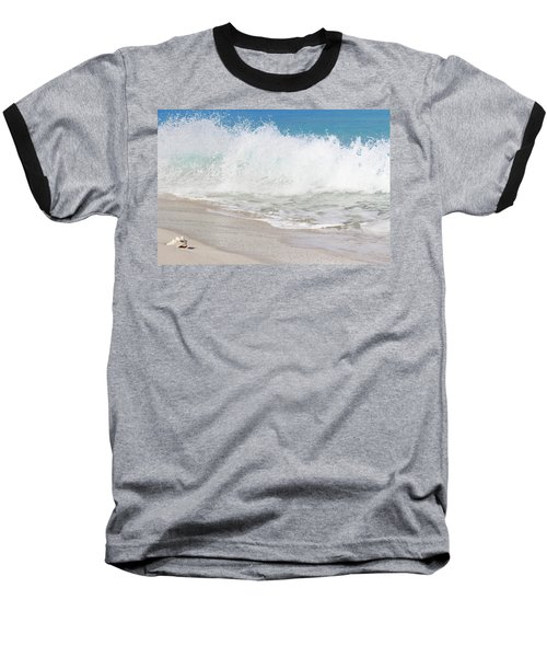 Bimini Wave Sequence 2 Baseball T-Shirt