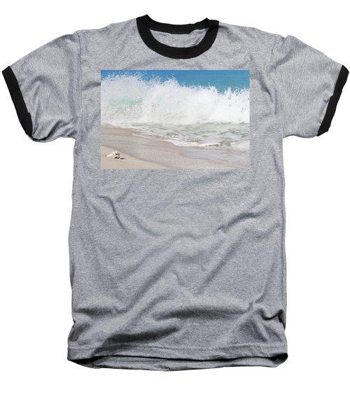 Bimini Wave Sequence 2 Baseball T-Shirt