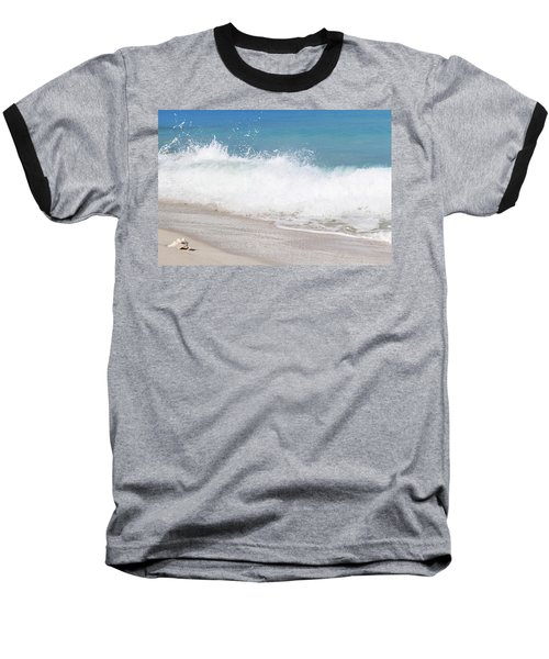 Bimini Wave Sequence 4 Baseball T-Shirt