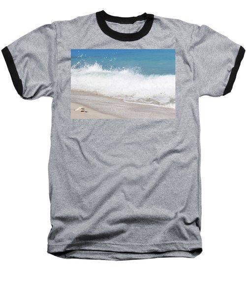 Bimini Wave Sequence 4 Baseball T-Shirt