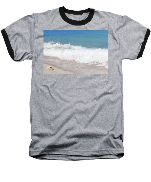 Bimini Wave Sequence 5 Baseball T-Shirt