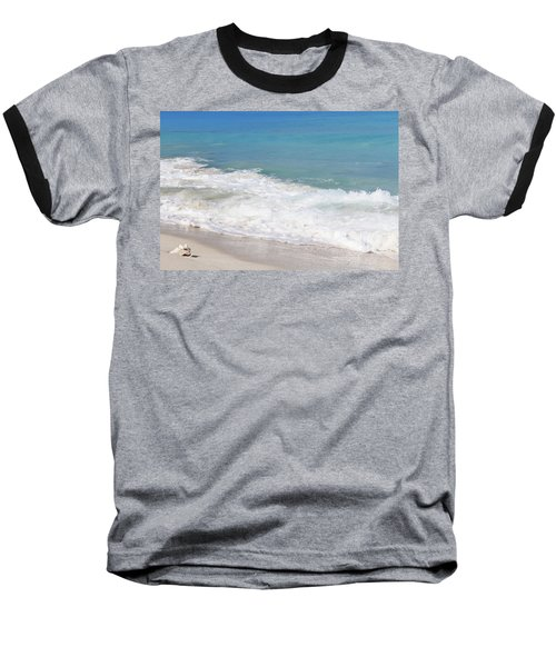 Bimini Wave Sequence 6 Baseball T-Shirt