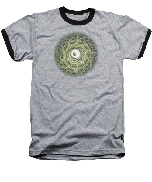 Baseball T-Shirt featuring the digital art Biohazard by Anastasiya Malakhova