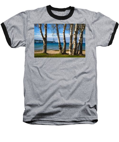 Birch At The Mac Baseball T-Shirt