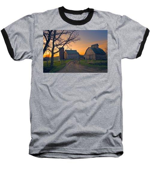 Birch Barn 2 Baseball T-Shirt by Bonfire Photography