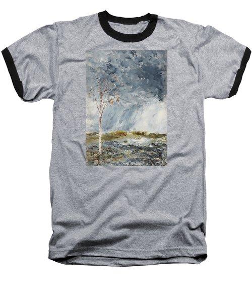 Birch I Baseball T-Shirt by August Strindberg