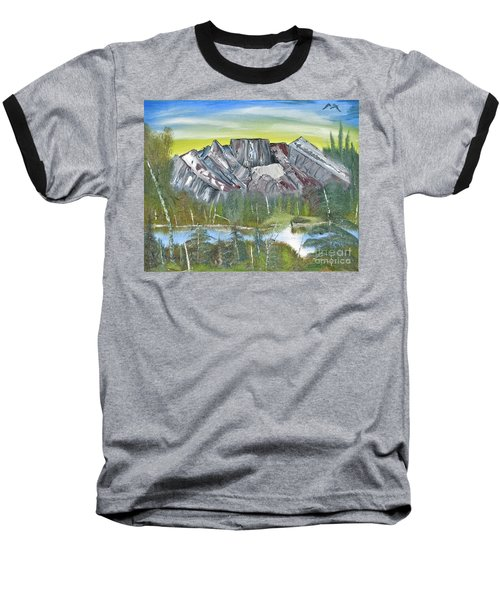 Birch Mountains Baseball T-Shirt