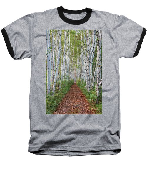 Birch Path Baseball T-Shirt