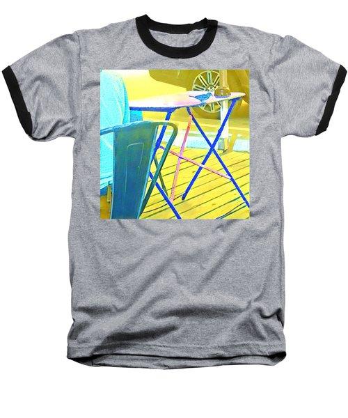 Bird At Jo's  Baseball T-Shirt