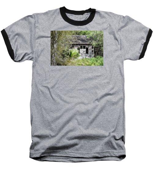 Bird Blind At Frontera Audubon Baseball T-Shirt