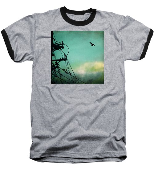 Baseball T-Shirt featuring the photograph Bird City Revisited by Trish Mistric