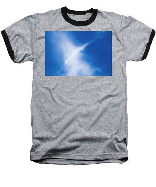 Baseball T-Shirt featuring the photograph Bird Cloud by Yulia Kazansky