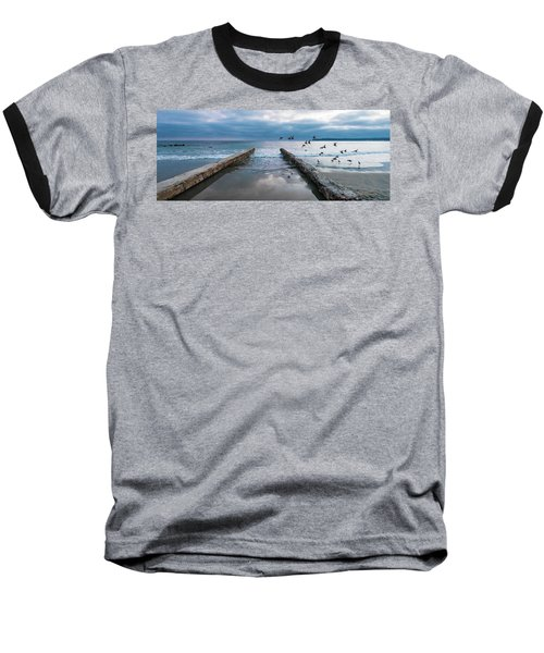 Bird Flight Baseball T-Shirt